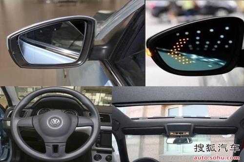 电动天窗,led外后视镜转向灯,电动调节外后视镜(可加热),三幅式多功能