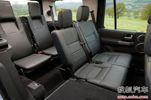 空间方面:路虎发现4的车内空间用途广泛